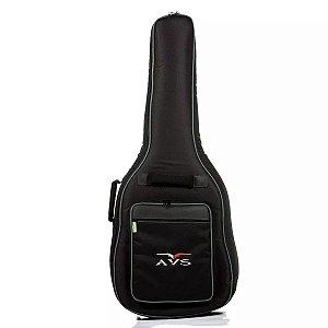 Capa Bag Para Violão Clássico Avs Ch200 super luxo acolchoado