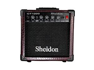 Amplificador cubo para guitarra 15w  Sheldon Gt1200 bordo