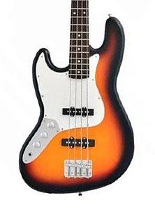 Baixo 4 Cordas Canhoto Phx Jb4 canhoto sunburst Jazz Bass