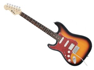 Guitarra Phx Strato Power St H Sth Canhoto Sunburst