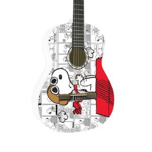 Violao Nylon Phx Disney Snoopy Adulto Branco Vsa1
