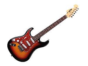 Guitarra Tagima Memphis Mg32 Canhoto Sunburst