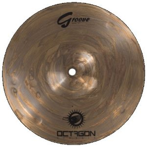 Prato Splash 10 Groove Bronze B8 Octagon Gr10sp
