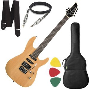 Guitarra Tagima Memphis Mg230 Mg 230 Natural Capa Cabo Alça