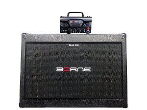 Cabeçote Borne Mob T3 chumbo com caixa 2 falante 12