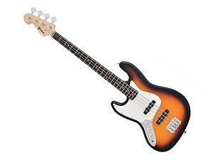 Baixo Phx 4 Cordas Canhoto Jb 4 Jazz Bass Sunburst