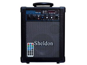 Caixa Multiuso Amplificada Sheldon Max 1000 Bluetooth usb 15w