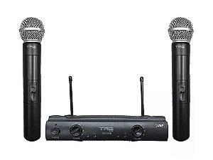 Microfone Sem Fio Duplo Profissional Uhf Tag Sound Tagima