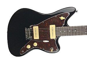 Guitarra Tagima Tw61 Woodstock Jazzmaster Preto