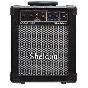 Caixa Multiuso Amplificada Sheldon Max 100 15w rms