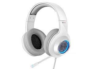 Fone Headset Gamer Edifier G4 Led Branco Ps4 Pc Usb Vibração