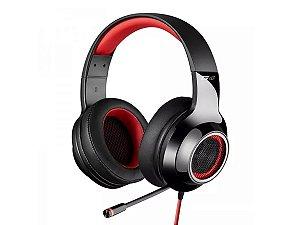 Fone Headset Gamer Edifier G4 Led vermelho Ps4 Pc Usb Vibração