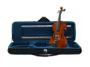 Kit Violino Eagle Ve144 4/4 Estojo Arco Breu Espaleira