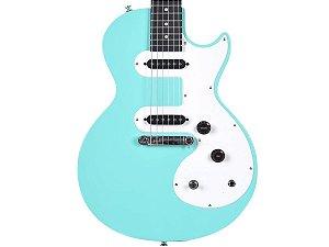 Guitarra Epiphone Les Paul Sl Turquoise Azul Claro Regulado
