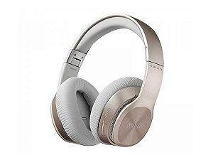 Fone Bluetooth Edifier W820bt Headphone Profissional Celular Gold