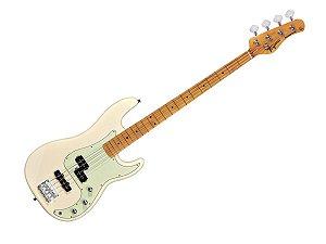contra Baixo Tagima Tw65 Woodstock precision Branco