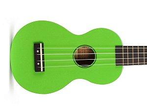 Ukulele Soprano Mahalo Mr1 Verde cordas Aquila e capa MR1GN