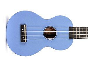 Ukulele Soprano Mahalo Mr1 Azul Bebê cordas Aquila e capa MR1LBU