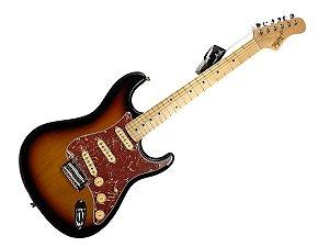 Guitarra tagima t635 Sunburst escala clara escudo Tortoise
