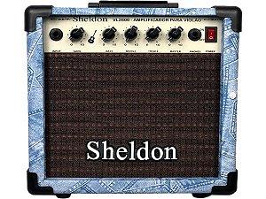 Caixa Amplificador Para Violão Sheldon Vl2800 Jeans 15w novo