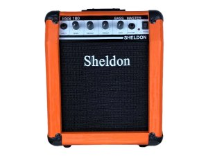 Amplificador Cubo para baixo Sheldon Bss180 18w - Laranja
