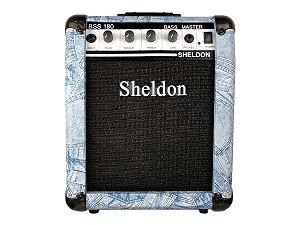 Amplificador Cubo para baixo Sheldon Bss180 18w - Jeans