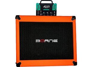 cabeçote joyo atomic vox ac30 caixa borne laranja orange 12