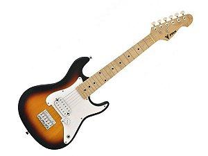 Guitarra Infantil Criança Eletrica Phx Ist1 Sunburst 3/4 profissional
