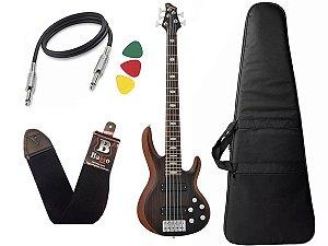 Kit Baixo Phx Ativo Top V Bs 5 G Bs5 Cor Marrom Bag