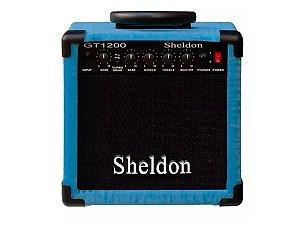 Amplificador Caixa Cubo para Guitarra Sheldon Gt1200 15w Azul