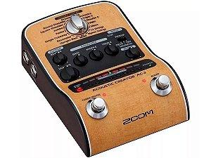 Pedaleira Para Violão Zoom Ac-2 Original Garantia 2 Anos
