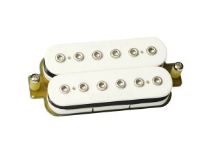 Captador sergio rosar rock king plus humbucker ponte Branco