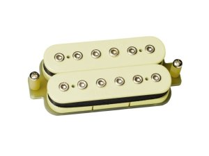 Captador sergio rosar rock king plus humbucker ponte Creme