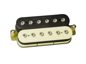 Captador sergio rosar rock king plus humbucker ponte Zebra