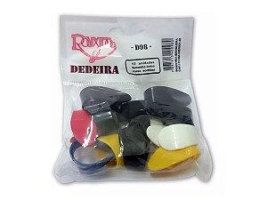 Dedeira Viola Violão Rouxinol Coloridas 12 Unidades Original