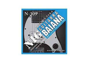 Encordoamento Guitarra Baiana 009 Nig 5 cordas