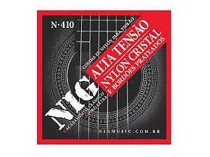 Encordoamento Cordas Violão Nylon Tensão alta 09 Nig N410