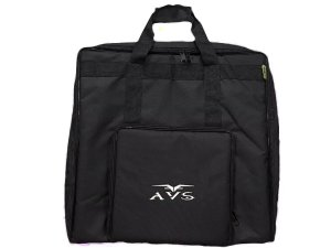 capa Avs Bag Para Acordeon 120 Baixos Super Luxo acolchoado alça mochila