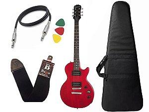 Guitarra les paul Epiphone Special VE Vermelho Vintage + Capa Cabo