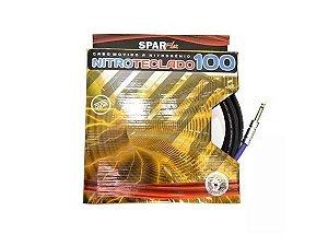 Cabo para teclado Sparflex Nitro 100 5 metros p10 p10 reto