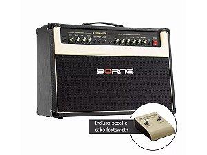 Amplificador cubo Borne Evidence 100 w reverb mola distorção