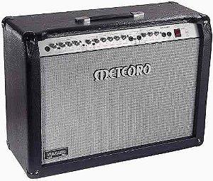 Amplificador Meteoro Vulcano Pre Valvulado G200 W rms 2x12