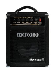 Amplificador  Meteoro Star Black 8 30w Cone Aluminio