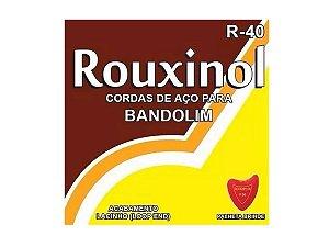 Encordoamento Rouxinol Bandolim R40 + Palheta Brinde