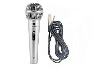 Microfone Profissional Harmonics com Cabo stereo 4,5m