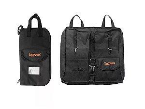 Bag Para Baquetas Liverpool Capa Premium Preto Bag 02p