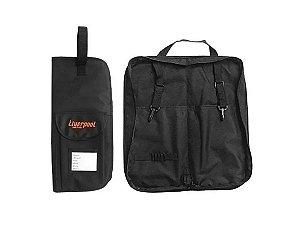 Bag Para Baquetas Liverpool Capa Premium Preto Bag 01p