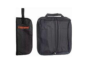 Bag Para Baquetas Liverpool Capa Premium Preto Bag 03p