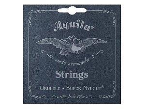 Encordoamento Aquila Ukulele Soprano Supernylgut Tensãobaixa