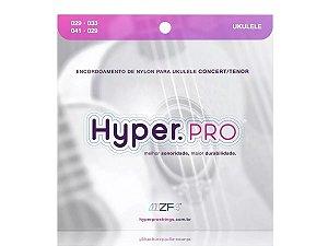 Encordoamento Ukuele Nylon Hyper Pro Para Concert E Tenor